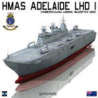 HMAS Adelaide LHD 1