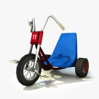 3d tricycle danny