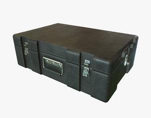 military black case 3d max
