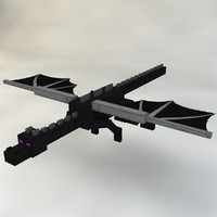 3d model ender dragon