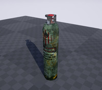 Old Gas Canister