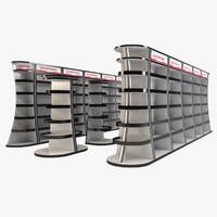 market rack - 4 3d max