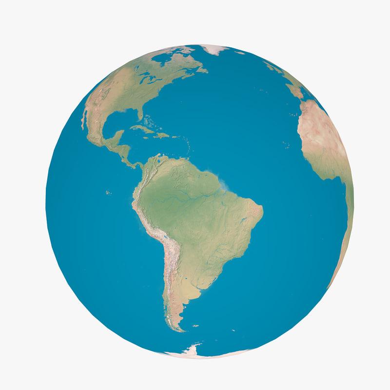 clean earth 3d max