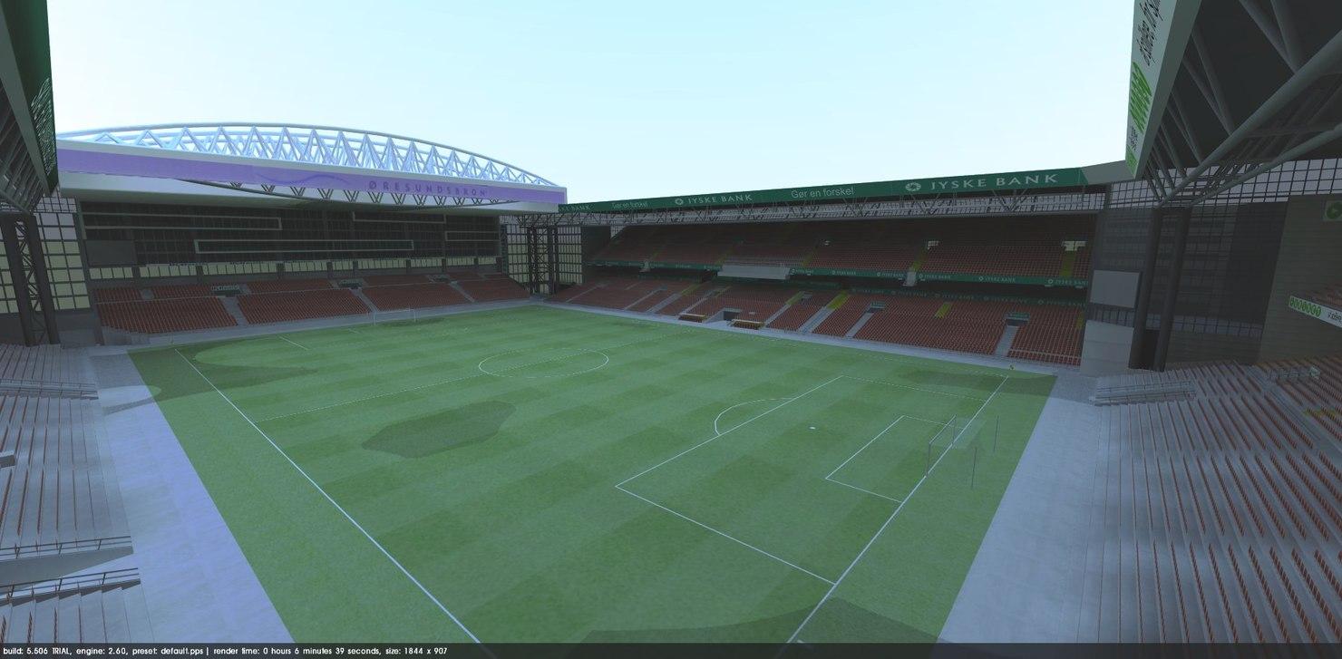 parken stadium 3d model