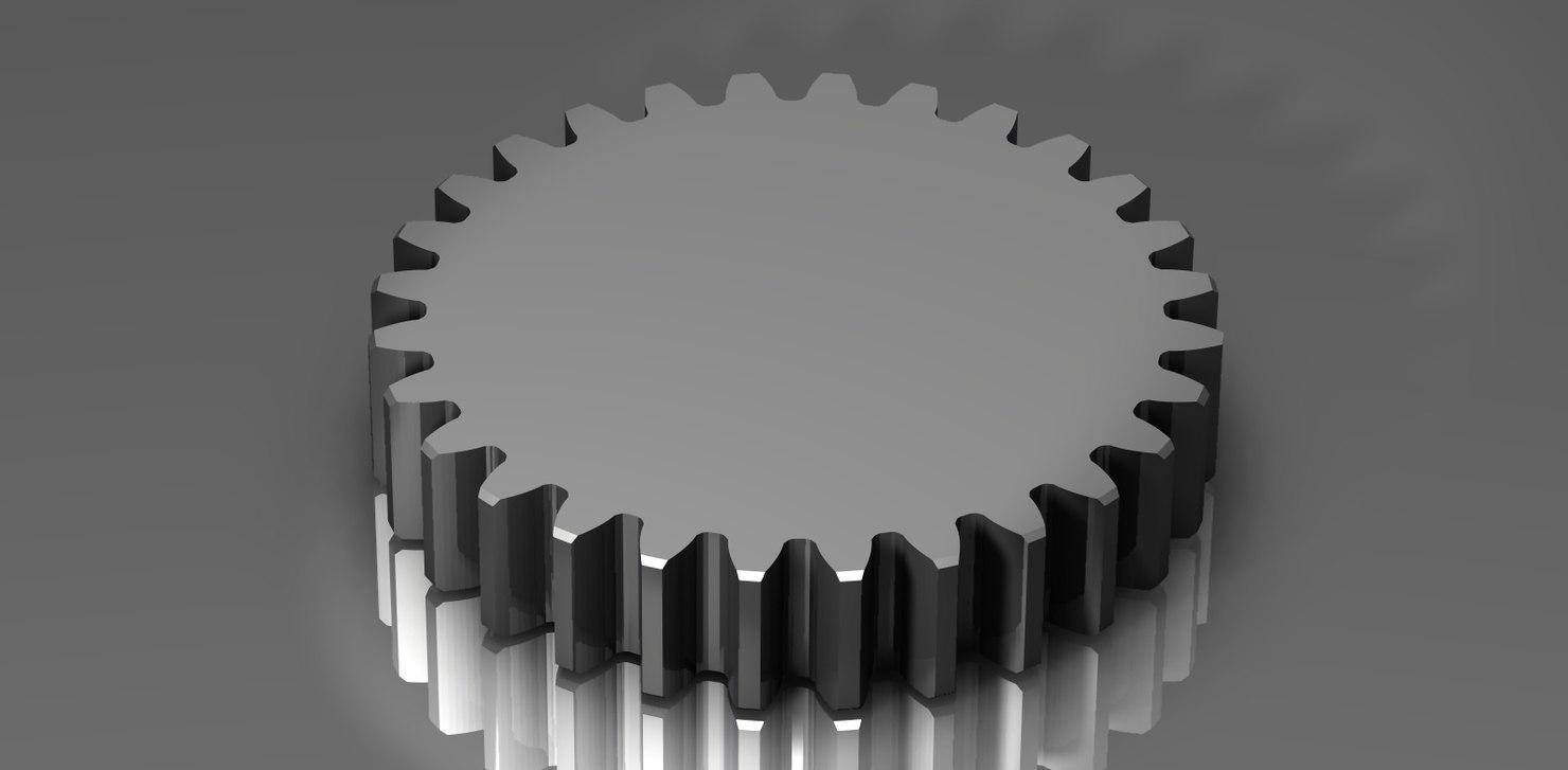 spur gear 48 48p 3ds