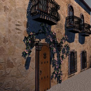 house windows 3d model