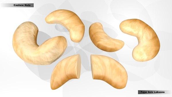 cashew nut 3d 3ds
