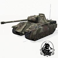 3d panther tank v