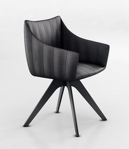 3d chair rubie freifrau model