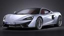 McLaren 570GT 3D models