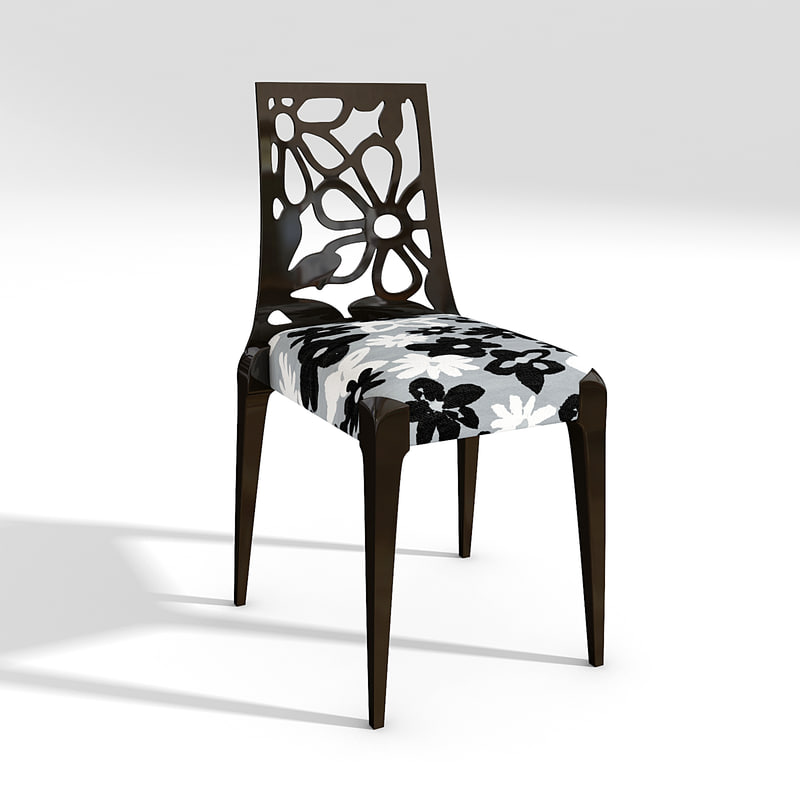 trone grande chair 152sf 3d max