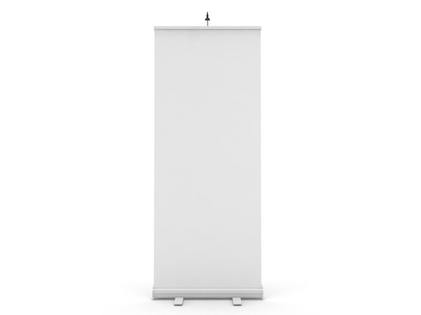 3d blank roll banner stand