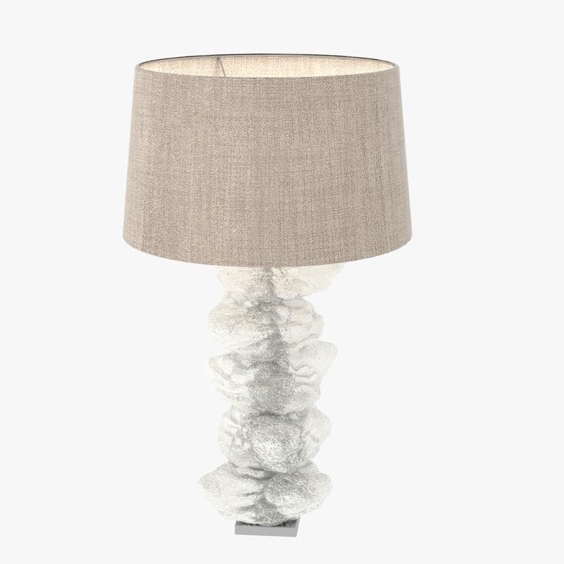 lamp stack natural rock 3ds
