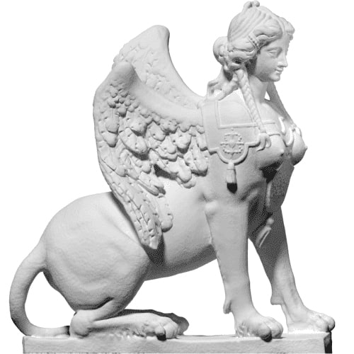 free scan sphinx 3d model