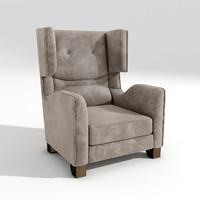 3d smania corinne armchair