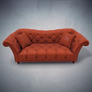 3d leather sofa ellen