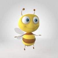 3d max bug bee animals