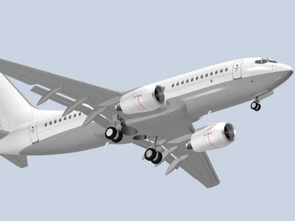 b 737-700 3d dwg