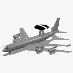 3d model e-3d sentry aew1 royal