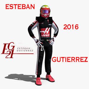 esteban gutierrez 2016 3ds