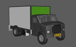 truck obj