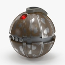 sci fi grenade 3D models