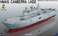 HMAS Canberra LHD 2