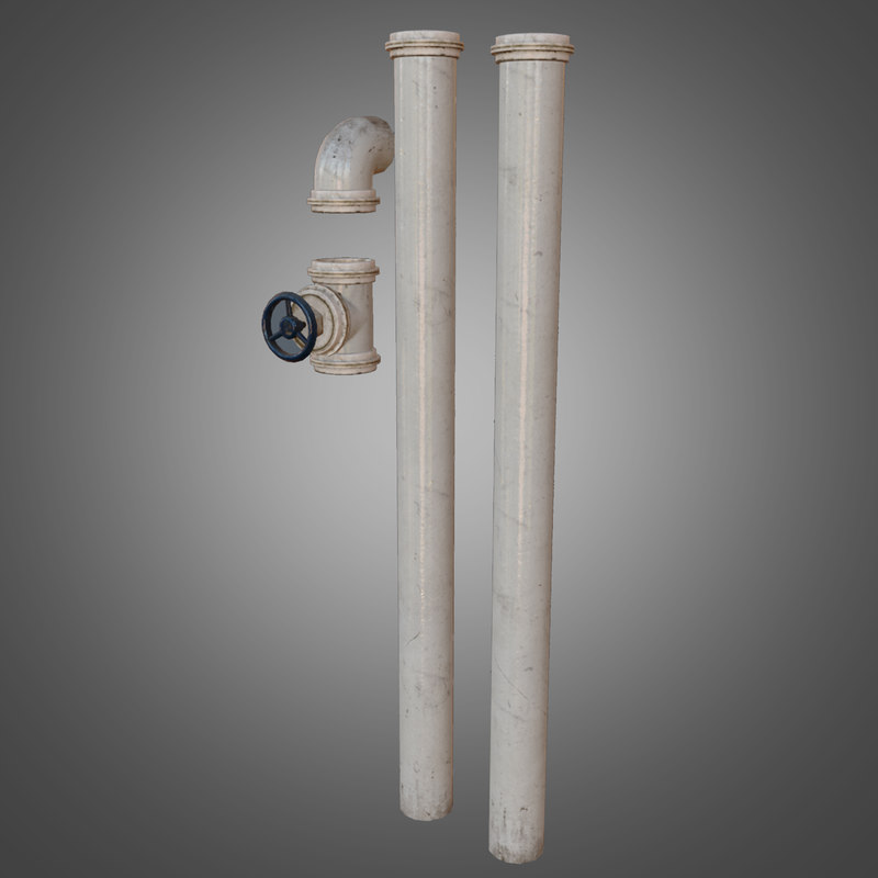 fbx pipe set - pbr