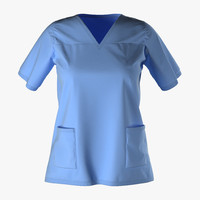 3ds female surgeon dress 18