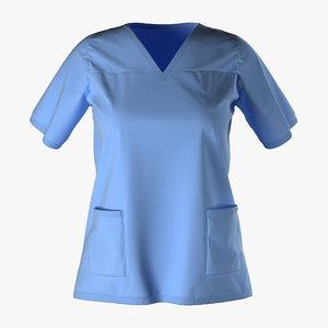 3ds female surgeon dress 18