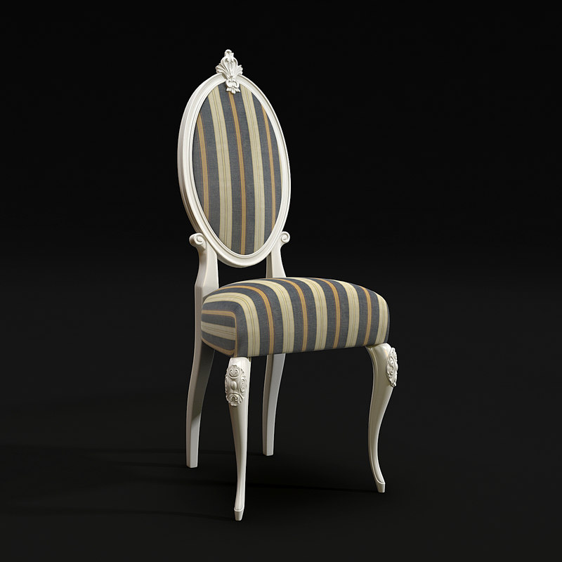 3d model martini mobili medallion chair