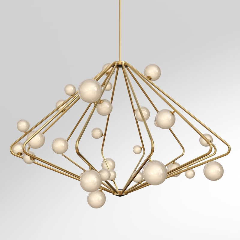 3d model cherry bomb chandelier cb