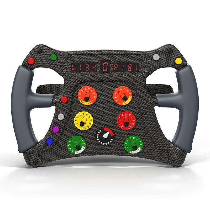 formula steering wheel 3ds