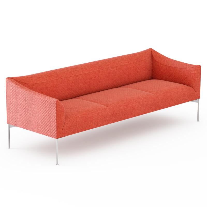 3d model sofa bow