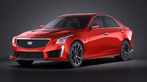 2016 cadillac cts 3d 3ds
