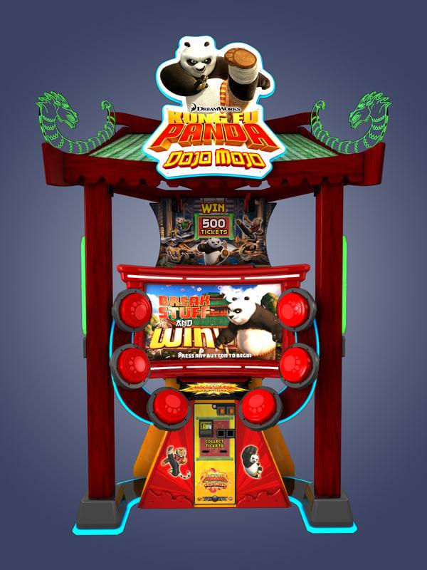 c4d kung fu panda
