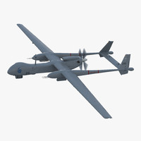 3d iai eitan uav model