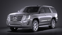 3d 2015 cadillac escalade model