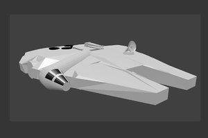 millennium falcon 3d 3ds