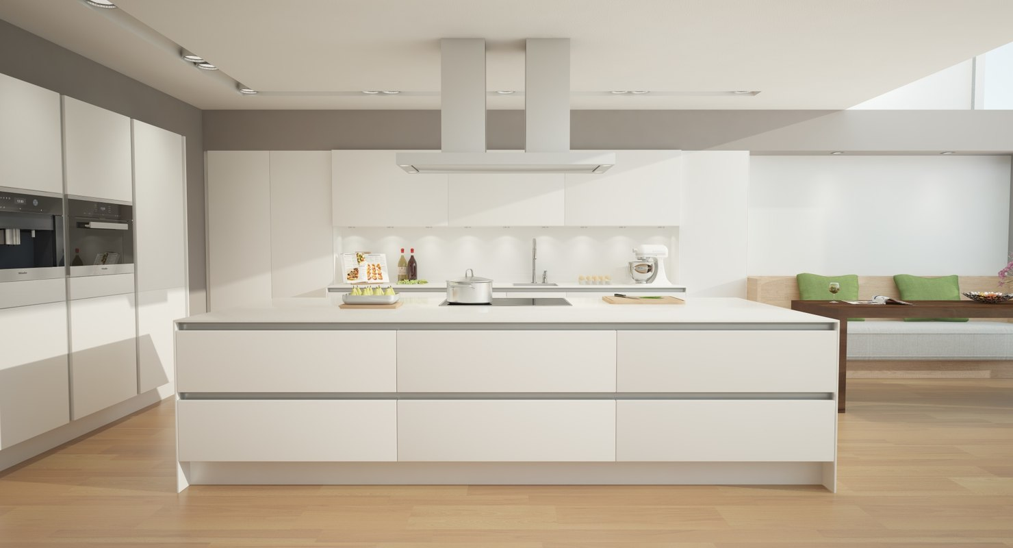 dxf kitchen scene