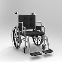 wheelchair chair obj