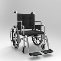 wheelchair chair obj