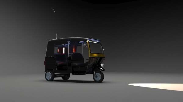tuktuk 3d max