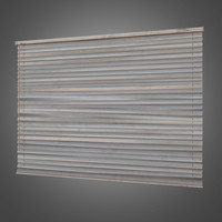 Window Indoor Blinds - 02 - PBR Game Ready