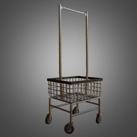Laundromat Cart  - 01 - PBR Game Ready