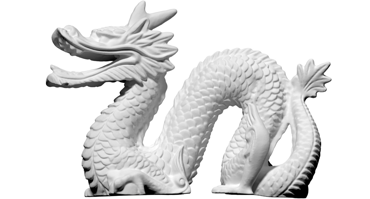 free scan dragon 1 3d model