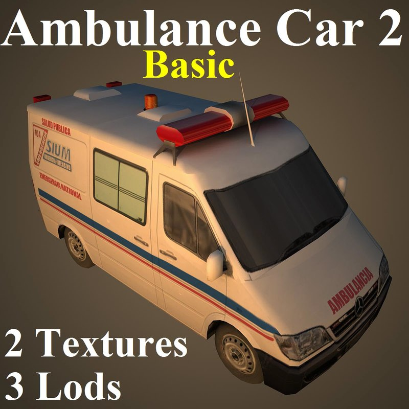 ambulance car basic max