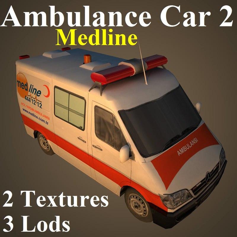 max ambulance car med