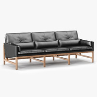 BassamFellows Low Back Sofa