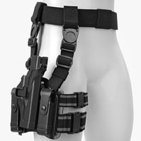 Leg Holster Blackhawk Tactical Level 3 Serpa